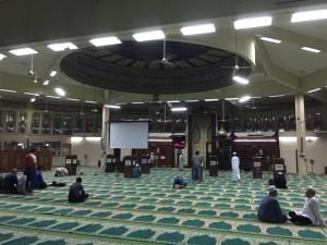 masjid bulat internal
